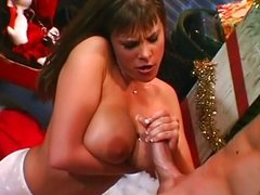 Huge Tits Handjob / Blowjob Finisher