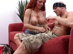 Hot redhead MILF Shannon Kelly pussy fucked