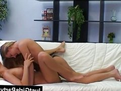 Lesbian teen girls fucking with strapon