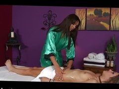 Relaxing labia and clit massage
