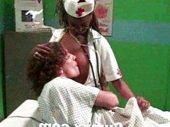 Ebony Nurse Hardcore In Hospital