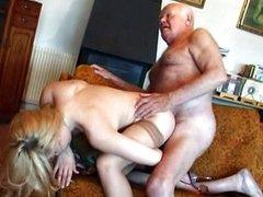 Grandpa pumpkin goes wild ove his .meat