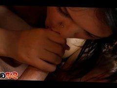 Sizzling Liza Del Sierra in an anal threesome