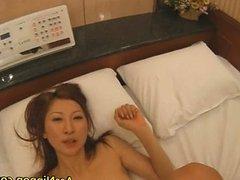Chihiro Hara Lovely Asian babe gets hard