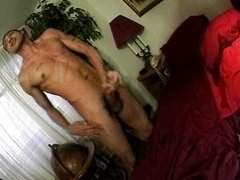 Big hairy dick jerked off