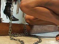 Shemale pain torture spanking fun