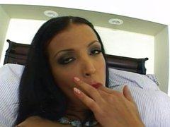 Maya Gates dildo stuffing her pussy