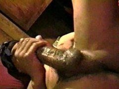 Huge ebony dong is a good toy
