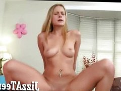 Tight young babe blowjobs and smashed
