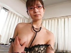 Ann Nanba sweet Asian nurse