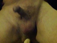 italian hubbie play with dildo