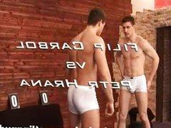 Filip Carbol vs Petr Hrana Nude Wrestling