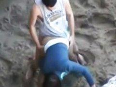 Sex Outdoor On The Beach