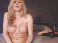Hardcore anal masturbation busty shemale
