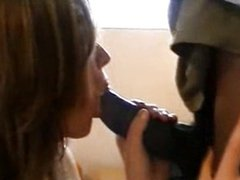 Cute wife loves black cock