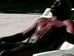 Black gay hardcore anal action