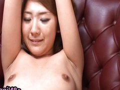 Bound Asian gets lots of toys