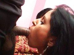 Indian girl threesome fun