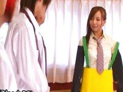 Bukakke session with nice teen Jessica