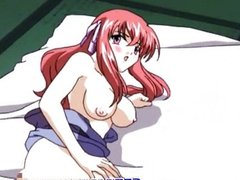 Hentai hot foreplayed and slammed