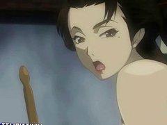 Bondage Japanese girl anime in lesbian sex