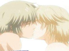 Anime gay gets bareback and cummed
