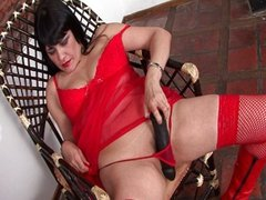 Red stockings is what i love