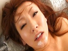Emii Harukaze Hot Asian chick enjoys