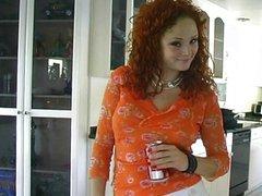 Sexy Audrey Hollander behind the scenes