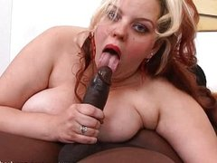 Black guy finds amazing bbw fat ass and fucks