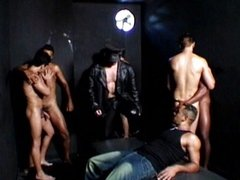 Brazilian gay orgy is exciting