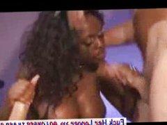 Busty Ebony Jada Fire Sizzling Double