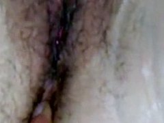 Hairy pussy for a mature woman