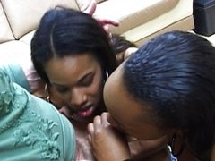 Nasty ass ebony blowjob whores