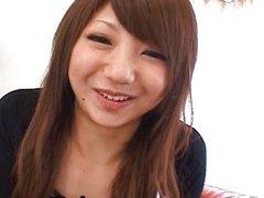 Ana Oshirino Lovely Asian babe spreads