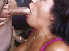 Francesca Le and the blowjob
