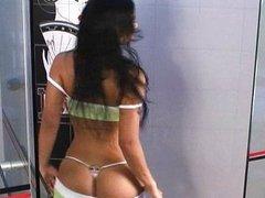 Andrea Rincon (Selena Spice) Gym