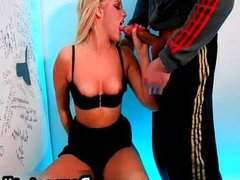 Blonde chick Serenna Clinton gets fucked