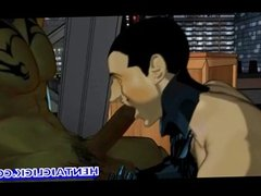 Anime gays gangbanged orgy n cummed