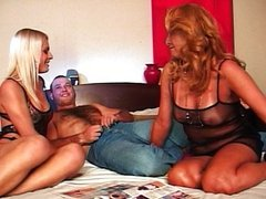 Blond shemale rough fuck makes you wet