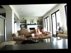 Spycams film cheating blonde