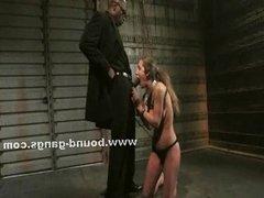 Cops cuffing horny prostitute
