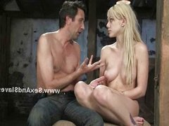 Blonde russian with soft skin fucked