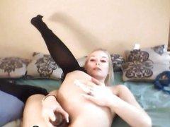 Flexible Gorgeous Blond Babe HD