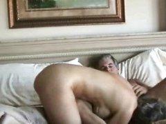Older couple enjoys home sex