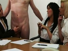 Office babes get a hard priority project