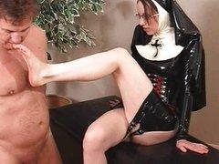 Nun Ass Slave