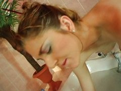 Nice fucking in the bathtub