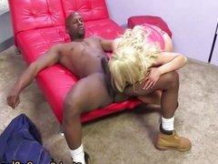 Interracial cock sucking