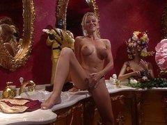 Sexy Julie Meadows solo masturbation